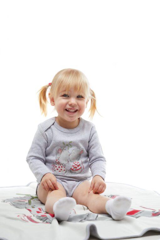 Cango hiirekesega bodi Bodid - HellyK - Kvaliteetsed lasteriided, villariided, barefoot jalatsid