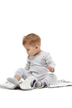 Cango hiirekesega triibuline bodi Lasteriided - HellyK - Kvaliteetsed lasteriided, villariided, barefoot jalatsid