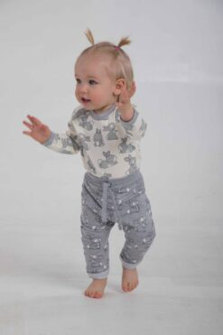 Cango jänkudega bodi Bodid - HellyK - Kvaliteetsed lasteriided, villariided, barefoot jalatsid
