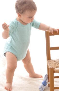 Bourette´i siidist bodi, Mint Bodid - HellyK - Kvaliteetsed lasteriided, villariided, barefoot jalatsid