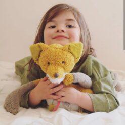 Chaussette rebane, suur Mänguasjad - HellyK - Kvaliteetsed lasteriided, villariided, barefoot jalatsid