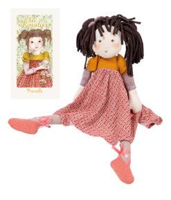 Prunelle suur kaltsunukk Mänguasjad - HellyK - Kvaliteetsed lasteriided, villariided, barefoot jalatsid