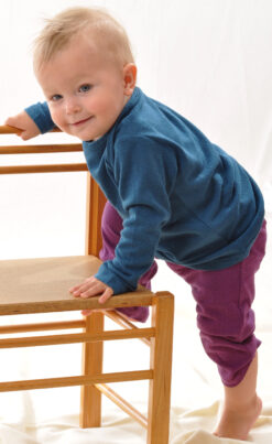 Bourette´i siidist püksid, Safiir Lasteriided - HellyK - Kvaliteetsed lasteriided, villariided, barefoot jalatsid