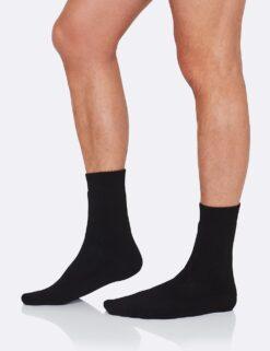 Boody Men's Boot Socks- Black Meestele - HellyK - Kvaliteetsed lasteriided, villariided, barefoot jalatsid