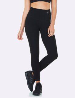 Boody retuusid Active High-Waisted Full Leggings- Black Naistele - HellyK - Kvaliteetsed lasteriided, villariided, barefoot jalatsid