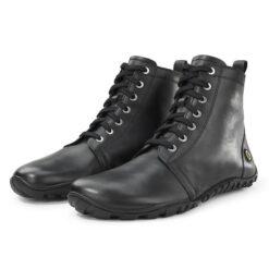 Joe Nimble JOYTOES talvesaapad, Must Täiskasvanute barefoot jalatsid - HellyK - Kvaliteetsed lasteriided, villariided, barefoot jalatsid