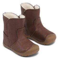 Bundgaard Petit Winter Boot, Brown Laste barefoot jalatsid - HellyK - Kvaliteetsed lasteriided, villariided, barefoot jalatsid