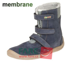 Fare Bare talvesaapad membraaniga, Sinine 33-42 Laste barefoot jalatsid - HellyK - Kvaliteetsed lasteriided, villariided, barefoot jalatsid