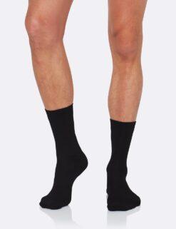 Boody Men's Business Socks- Black Meestele - HellyK - Kvaliteetsed lasteriided, villariided, barefoot jalatsid