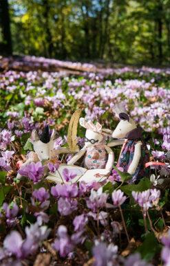 Muinasjutuhiireke Mimi Beebimänguasjad - HellyK - Kvaliteetsed lasteriided, villariided, barefoot jalatsid