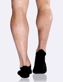 Boody Men's Low Cut Sneaker Sock- Black Meestele - HellyK - Kvaliteetsed lasteriided, villariided, barefoot jalatsid