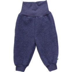 Fred´s World meriinofliisist püksid, Navy melange, baby Green Cotton - HellyK - Kvaliteetsed lasteriided, villariided, barefoot jalatsid