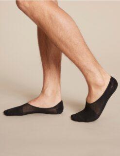 Boody Men's Hidden Sock- Black Meestele - HellyK - Kvaliteetsed lasteriided, villariided, barefoot jalatsid