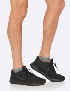 Boody Men's Low Cut Sneaker Sock- Gray Space Dye Meestele - HellyK - Kvaliteetsed lasteriided, villariided, barefoot jalatsid
