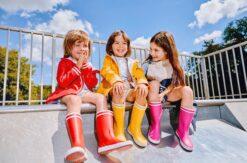 Aigle Lolly Pop, New Rose Kummikud - HellyK - Kvaliteetsed lasteriided, villariided, barefoot jalatsid