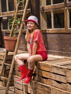 Aigle Lolly Pop, Rouge Kummikud - HellyK - Kvaliteetsed lasteriided, villariided, barefoot jalatsid
