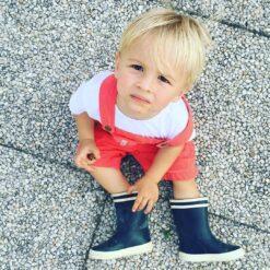Aigle Baby Flac, Marine Kummikud - HellyK - Kvaliteetsed lasteriided, villariided, barefoot jalatsid