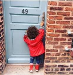 Aigle Baby Flac, Rouge Kummikud - HellyK - Kvaliteetsed lasteriided, villariided, barefoot jalatsid