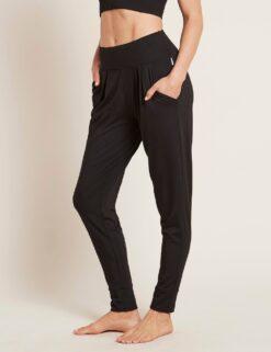 Boody Downtime Lounge Pants, Black Naistele - HellyK - Kvaliteetsed lasteriided, villariided, barefoot jalatsid