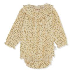 Konges Slojd Chleo pv body, Buttercup-yellow Bodid - HellyK - Kvaliteetsed lasteriided, villariided, barefoot jalatsid