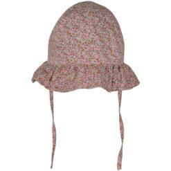 Mikk-Line päikesekaitsemüts kaabu, UPF50, Rose Lasteriided - HellyK - Kvaliteetsed lasteriided, villariided, barefoot jalatsid