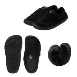 3F Bar3foot võrkkangast tossud, must Laste barefoot jalatsid - HellyK - Kvaliteetsed lasteriided, villariided, barefoot jalatsid