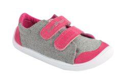 3F Bar3foot tossud, hall-roosa Laste barefoot jalatsid - HellyK - Kvaliteetsed lasteriided, villariided, barefoot jalatsid