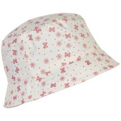 En Fant päikesekaitsemüts kaabu, SPF50, Old Rose Lasteriided - HellyK - Kvaliteetsed lasteriided, villariided, barefoot jalatsid