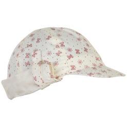 En Fant päikesekaitsemüts nokaga, SPF50, Old Rose Lasteriided - HellyK - Kvaliteetsed lasteriided, villariided, barefoot jalatsid