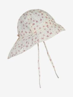 En Fant päikesekaitsemüts, SPF50, Old Rose Lasteriided - HellyK - Kvaliteetsed lasteriided, villariided, barefoot jalatsid
