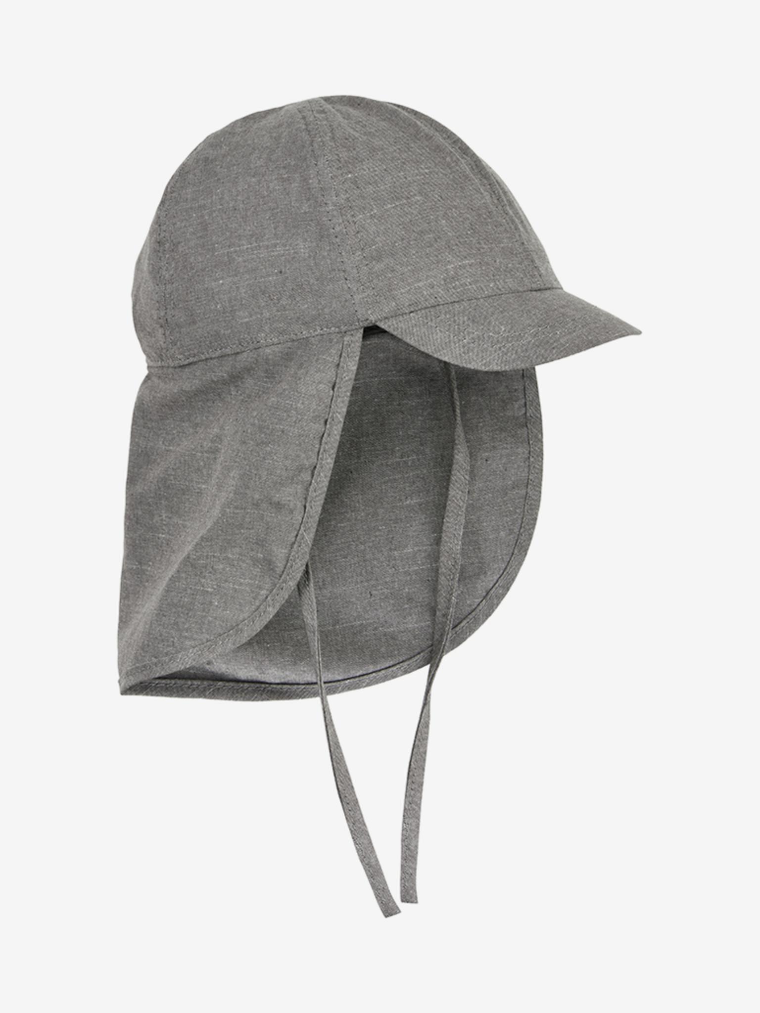 En Fant päikesekaitsemüts nokaga, SPF50, Grey Melange Lasteriided - HellyK - Kvaliteetsed lasteriided, villariided, barefoot jalatsid