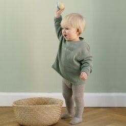 GoBabyGo libisemiskindlad sukkpüksid, Sand Lasteriided - HellyK - Kvaliteetsed lasteriided, villariided, barefoot jalatsid