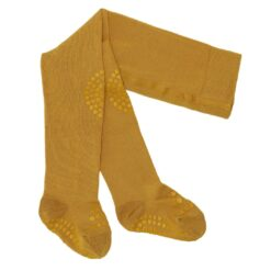 GoBabyGo libisemiskindlad sukkpüksid, Sinep Lasteriided - HellyK - Kvaliteetsed lasteriided, villariided, barefoot jalatsid