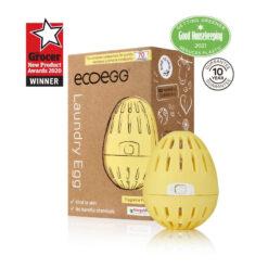 Ecoegg kollane lõhnatu pesumuna, 70 pesukorda Hooldusvahendid ja tarvikud - HellyK - Kvaliteetsed lasteriided, villariided, barefoot jalatsid