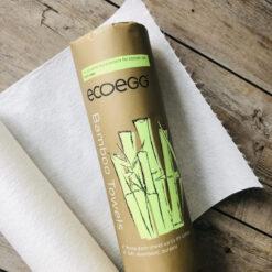 Ecoegg bambusrätikud, rullis 20tk Hooldusvahendid ja tarvikud - HellyK - Kvaliteetsed lasteriided, villariided, barefoot jalatsid