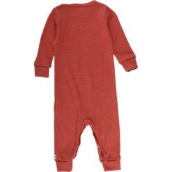 Müsli Woolly meriino-siidi bodysuit, Russet Green Cotton - HellyK - Kvaliteetsed lasteriided, villariided, barefoot jalatsid