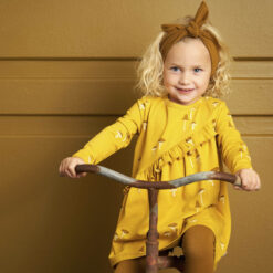 Müsli Chanterelle dress baby Green Cotton - HellyK - Kvaliteetsed lasteriided, villariided, barefoot jalatsid