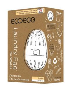 Ecoegg pesumuna Valgele Pesule, 70 pesukorda, Jasmiin Hooldusvahendid ja tarvikud - HellyK - Kvaliteetsed lasteriided, villariided, barefoot jalatsid