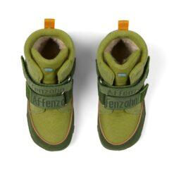 Affenzahn Comfy Jump vegan talvesaapad, Dragon Laste barefoot jalatsid - HellyK - Kvaliteetsed lasteriided, villariided, barefoot jalatsid