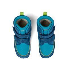 Affenzahn Comfy Jump vegan talvesaapad, Shark Laste barefoot jalatsid - HellyK - Kvaliteetsed lasteriided, villariided, barefoot jalatsid