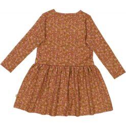 Wheat Astrid kleit, Bronze flowers Kleidid/seelikud - HellyK - Kvaliteetsed lasteriided, villariided, barefoot jalatsid