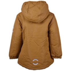 Mikk-Line tüdrukute talvejope, Golden Brown Lasteriided - HellyK - Kvaliteetsed lasteriided, villariided, barefoot jalatsid