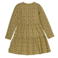 Müsli Petit fleur dress Green Cotton - HellyK - Kvaliteetsed lasteriided, villariided, barefoot jalatsid