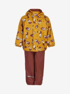 Celavi vihmakomplekt sooja voodriga, Mineral Yellow Lasteriided - HellyK - Kvaliteetsed lasteriided, villariided, barefoot jalatsid