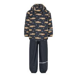 Celavi vihmakomplekt sooja voodriga, Navy Cars Lasteriided - HellyK - Kvaliteetsed lasteriided, villariided, barefoot jalatsid