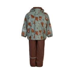 Celavi vihmakomplekt sooja voodriga, Slate Grey Lasteriided - HellyK - Kvaliteetsed lasteriided, villariided, barefoot jalatsid