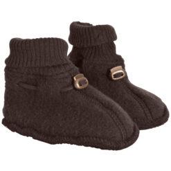 Villafliisist papud, Chocolate Brown Lasteriided - HellyK - Kvaliteetsed lasteriided, villariided, barefoot jalatsid