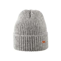 Pure Pure luksuslik alpakavillane müts, Grey Melange Aksessuaarid/kotid - HellyK - Kvaliteetsed lasteriided, villariided, barefoot jalatsid