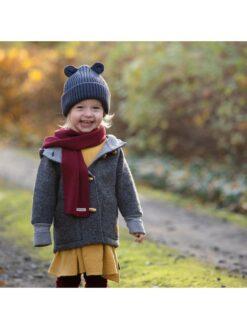 Pure Pure vanutatud meriinovillast jakk, Grey Melange Lasteriided - HellyK - Kvaliteetsed lasteriided, villariided, barefoot jalatsid