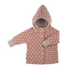Pure Pure vanutatud meriinovillast jakk, Misty Rose/Natur Lasteriided - HellyK - Kvaliteetsed lasteriided, villariided, barefoot jalatsid